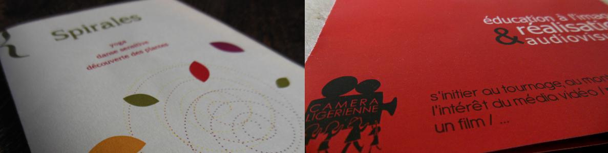 Exemple de brochures La Moujik